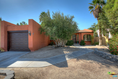 Palm Springs Single Family Home Contingent: 3243 North Mountain Shadow Drive