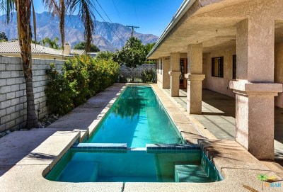 Palm Springs Single Family Home For Sale: 3149 East Ventura Road