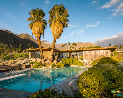 Palm Springs Single Family Home Contingent: 1030 West Cielo Drive