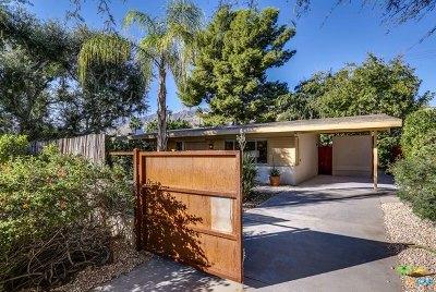 Palm Springs Single Family Home Contingent: 775 North Plaza Amigo