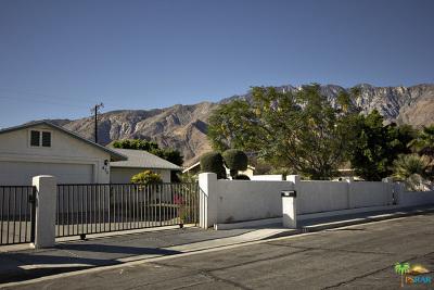 Palm Springs Single Family Home For Sale: 475 West Avenida Cerca