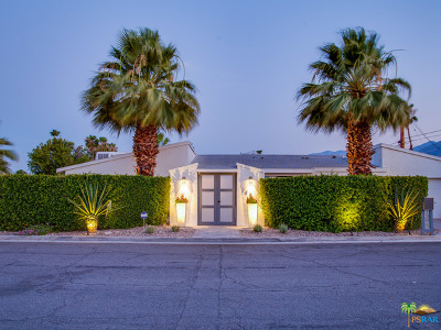 Palm Springs Single Family Home For Sale: 1395 East Granvia Valmonte