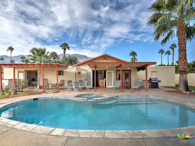 Palm Springs Single Family Home For Sale: 582 North Cerritos Drive