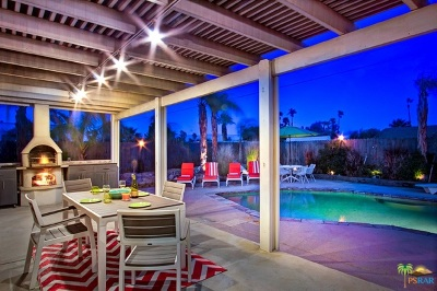 Palm Springs Single Family Home For Sale: 2236 North Victoria Road