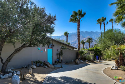 Palm Springs Single Family Home For Sale: 475 East Desert Willow Circle