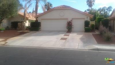 Palm Desert Single Family Home Contingent: 76819 Castle Court Court