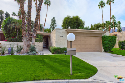 Palm Springs Condo/Townhouse Contingent: 2495 Casitas Way