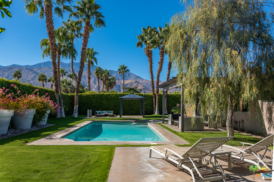 Palm Springs Single Family Home Contingent: 2245 East Tachevah Drive