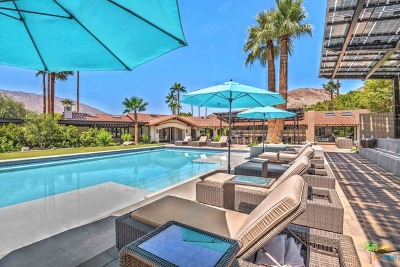 Palm Springs Single Family Home For Sale: 3580 Andreas Hills Drive