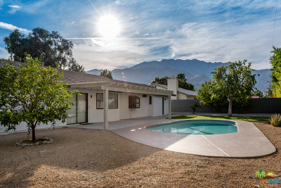 Palm Springs Single Family Home Contingent: 2140 East Rochelle Road