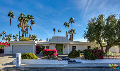 Palm Springs Single Family Home For Sale: 1266 South San Mateo Drive