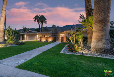 Palm Springs Single Family Home For Sale: 1131 South Driftwood Drive