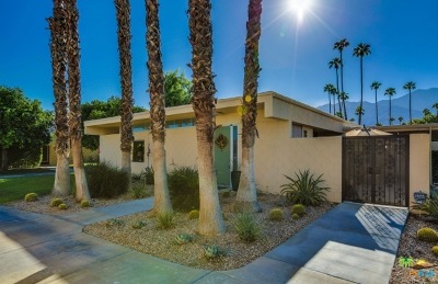 Palm Springs Single Family Home For Sale: 338 Desert Lakes Drive