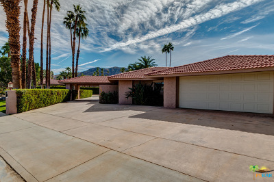 Palm Springs Single Family Home Contingent: 1177 East Sierra Way