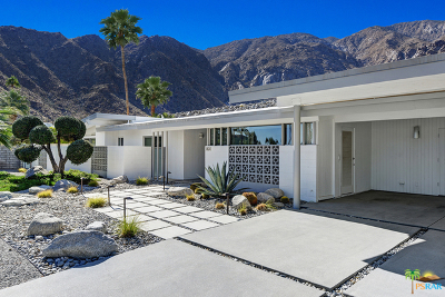 Palm Springs Single Family Home For Sale: 801 North Rose Avenue