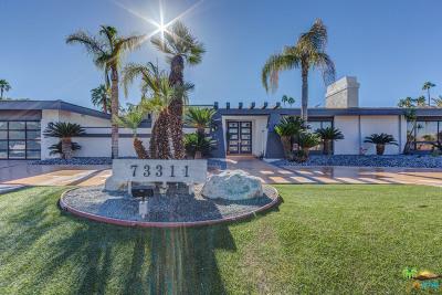Palm Desert Single Family Home For Sale: 73311 Ironwood Street
