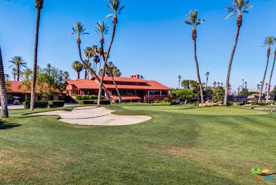 Rancho Mirage Condo/Townhouse Contingent: 63 La Ronda Drive