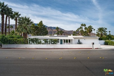 Palm Springs Single Family Home For Sale: 1185 North Avenida Caballeros