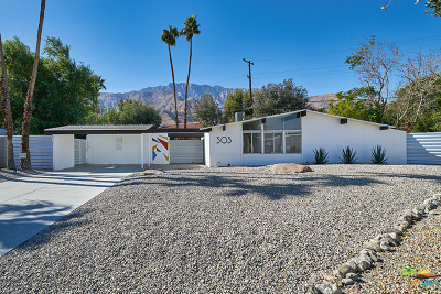 Palm Springs Single Family Home For Sale: 303 East Laurel Circle