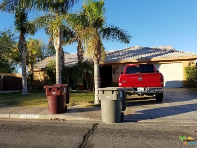 Cathedral City Single Family Home Contingent: 69410 El Canto Road