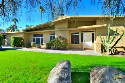 Palm Springs Single Family Home For Sale: 1121 South Paseo De Marcia