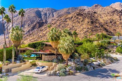 Palm Springs Single Family Home For Sale: 1011 West Cielo Drive