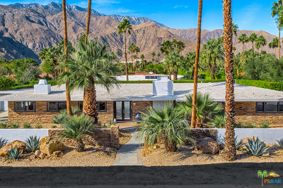 Palm Springs Single Family Home For Sale: 1143 North May Drive