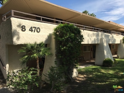 Palm Springs Condo/Townhouse For Sale: 470 North Villa Court #102