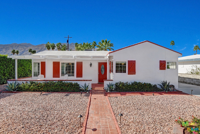 Palm Springs Single Family Home Contingent: 563 North Calle Rolph