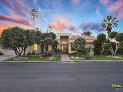 Rancho Mirage Single Family Home Contingent: 25 Mission Palms