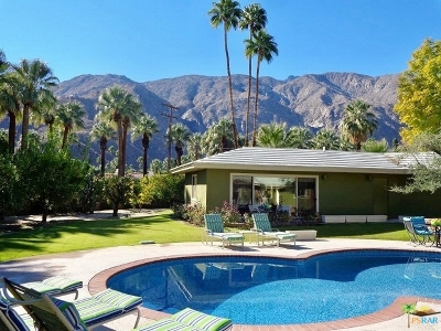 Palm Springs Single Family Home For Sale: 375 West Hermosa Place