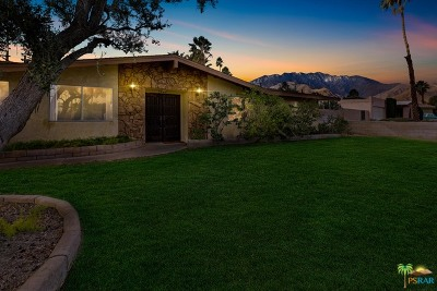 Palm Springs Single Family Home For Sale: 2445 East Del Lago Road