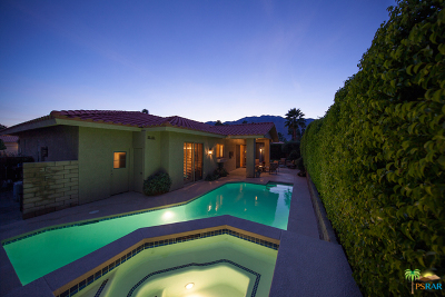Palm Springs Single Family Home For Sale: 2380 Quincy Way