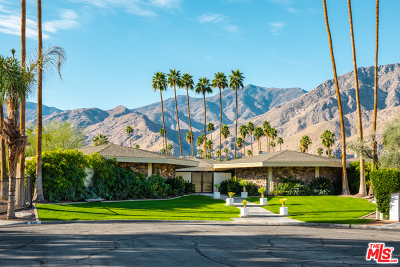 Palm Springs Single Family Home For Sale: 2587 South Pequeno Circle