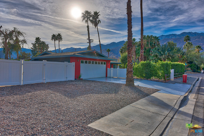 Palm Springs Single Family Home For Sale: 2109 East Paseo Gracia