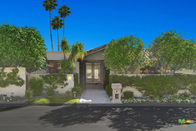 Rancho Mirage Single Family Home Contingent: 16 Stanford Drive