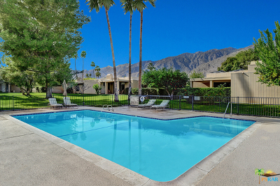 Palm Springs Condo/Townhouse For Sale: 1834 Via Aguila