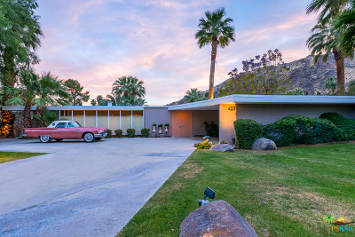 Palm Springs Single Family Home Contingent: 423 West Merito Place