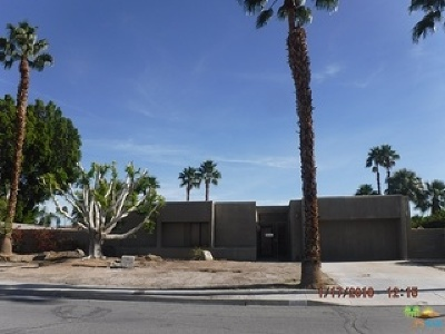 Palm Springs Single Family Home For Sale: 1840 North Hermosa Drive