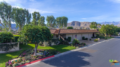 Rancho Mirage Single Family Home Contingent: 9 Princeton Drive