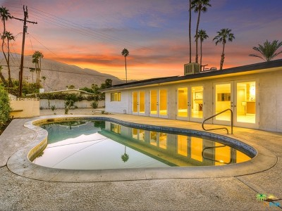 Palm Springs CA Single Family Home For Sale: $835,000