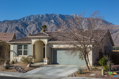 Palm Springs Single Family Home For Sale: 2595 Savanna Way