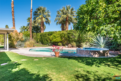 Palm Springs Single Family Home For Sale: 530 North Burton Way
