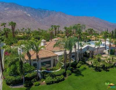 Palm Springs CA Single Family Home For Sale: $1,995,000