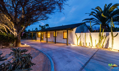 Palm Springs Single Family Home For Sale: 670 South El Cielo Road