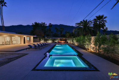Palm Springs Single Family Home For Sale: 1472 North Riverside Drive