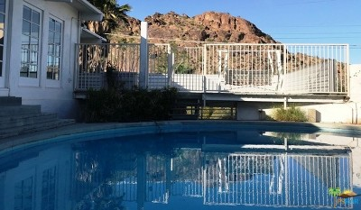 Palm Springs Single Family Home For Sale: 350 Ridge Road