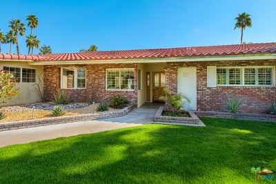 Palm Springs Single Family Home For Sale: 650 North Phillips Road