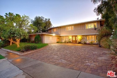 Calabasas CA Single Family Home Sold: $1,279,000