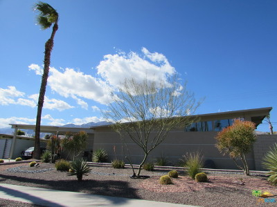 Palm Springs Single Family Home Contingent: 645 North Monterey Road